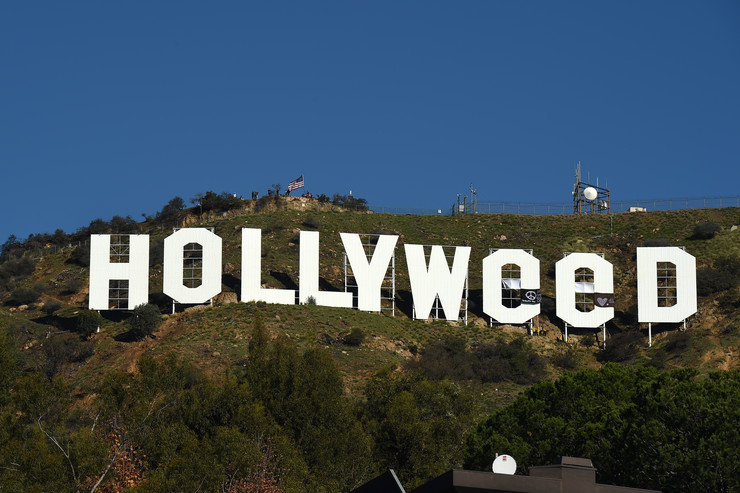 Hollyweed Sign Recreates a 1976 Artist Project