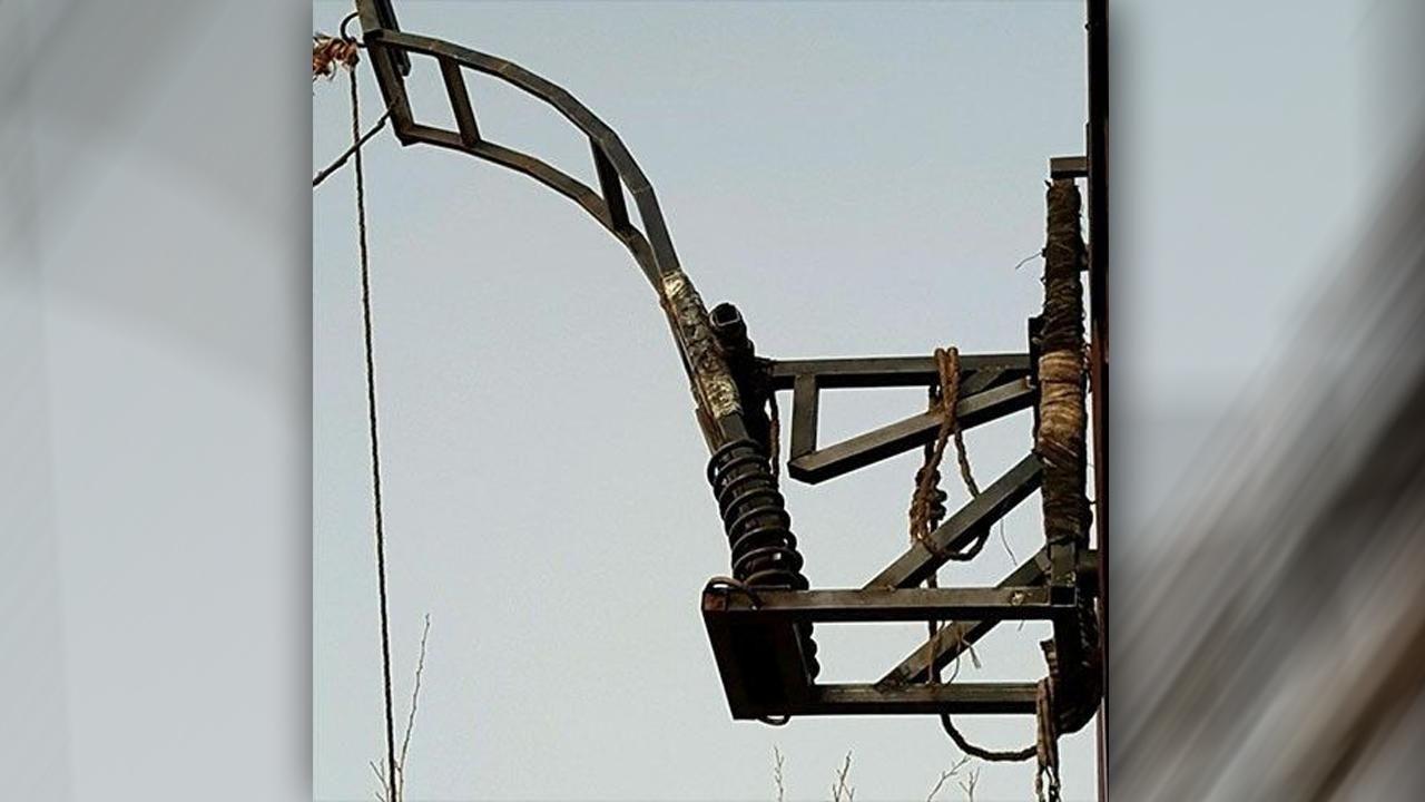Marijuana Catapult found near the US-Mexico Border