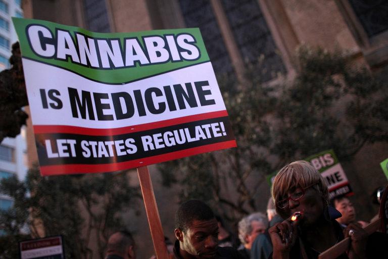 cannabis sign