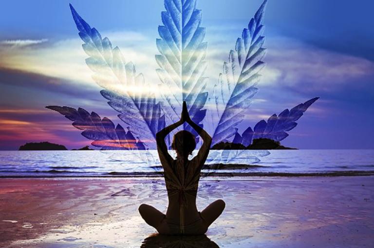 marijuana yoga