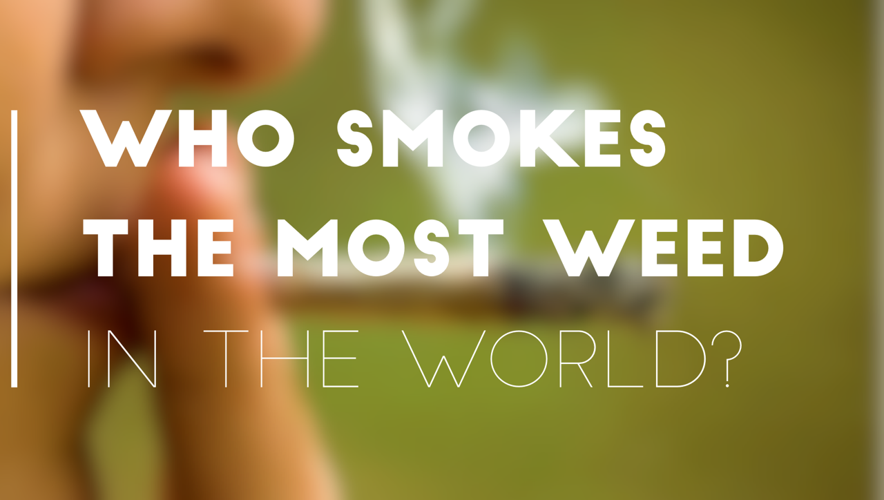 Who Smokes the Most Weed in the World?