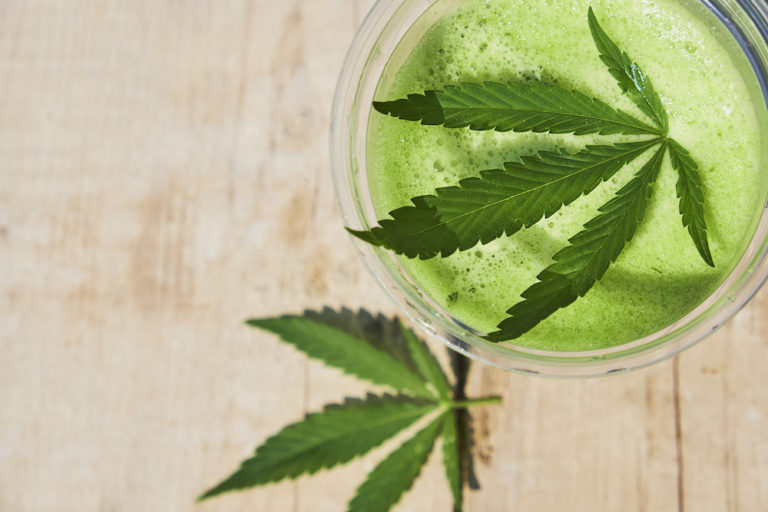 cannabis juicing