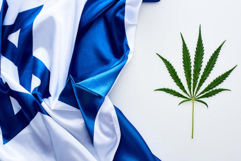 israeli flag cannabis