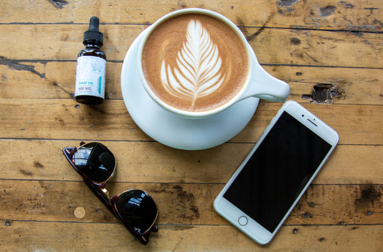 CBD Oil and Coffee