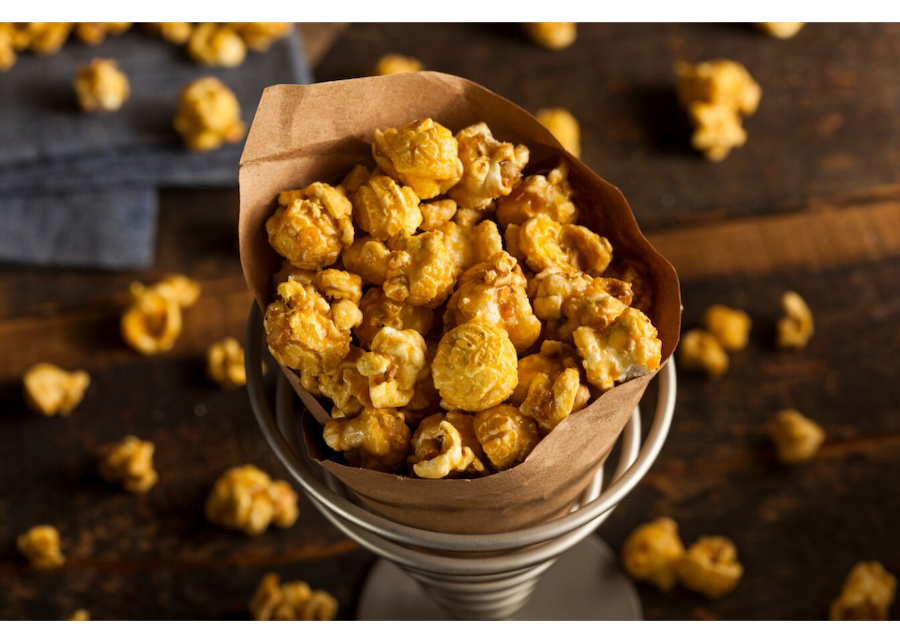 Cannabis-Infused Caramel Popcorn