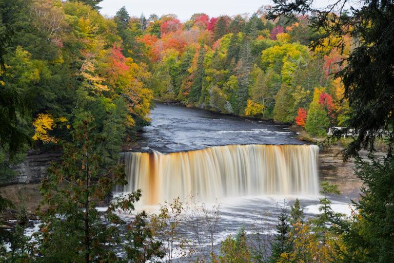 Michigan's Tahquamenon Falls