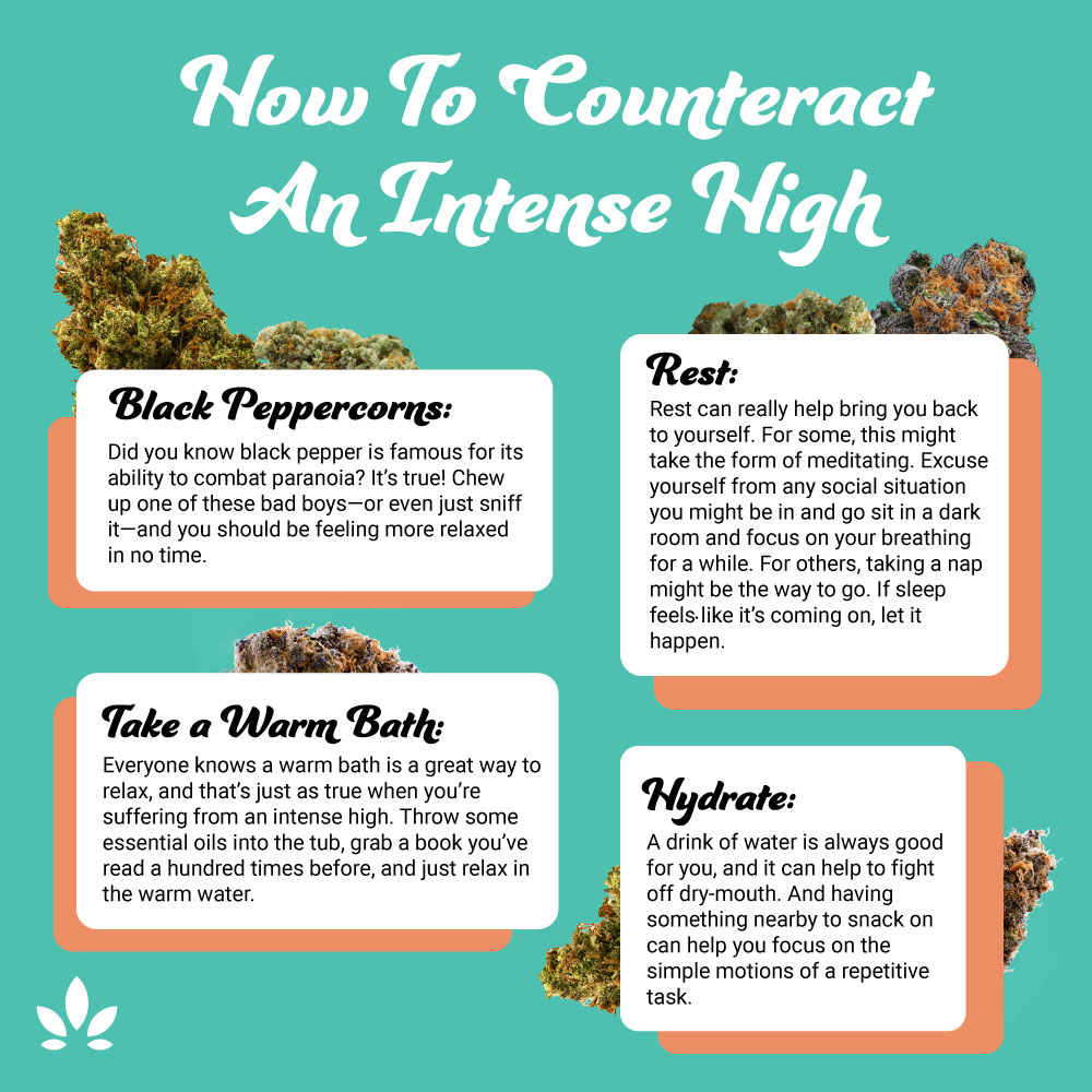 how to combat intense high