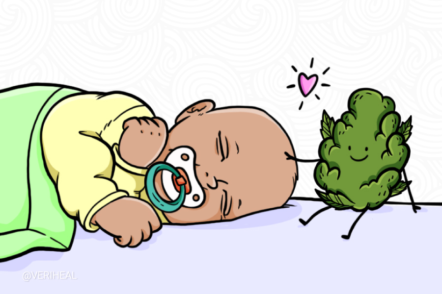 A Newborn is one of the Youngest to Benefit from Cannabis Therapy
