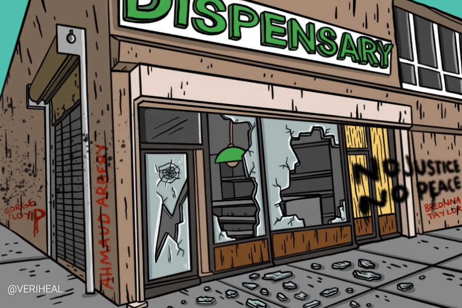 Cannabis Dispensaries Are Targets For Looting During Civil Unrest