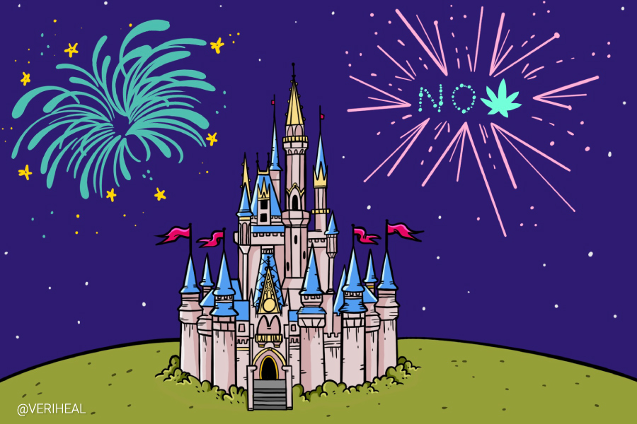 Most Theme Parks Say 'No' to Medical Cannabis Products