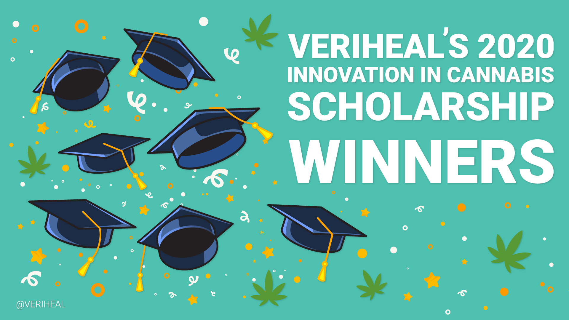 Veriheal's Innovation in Cannabis Scholarship 2020 Winners