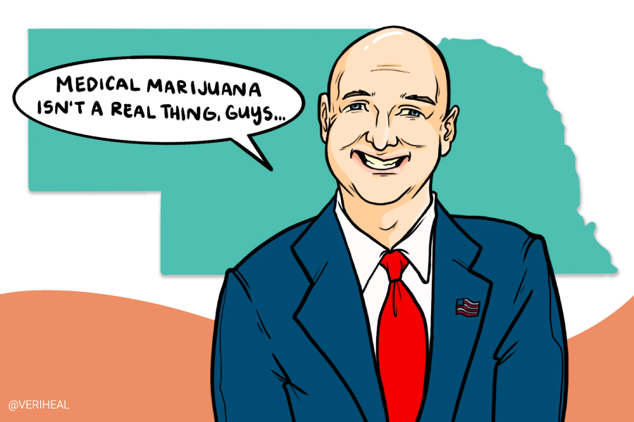 Nebraska's Governor Blasts Medical Cannabis With His Antiquated Views