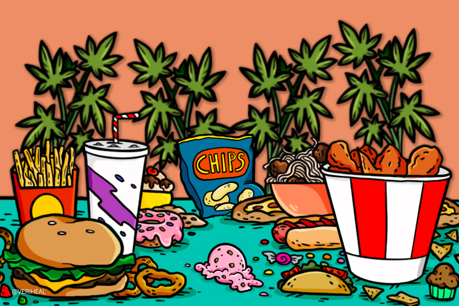Recreational Cannabis Legalization is Linked to Soaring Junk Food Sales