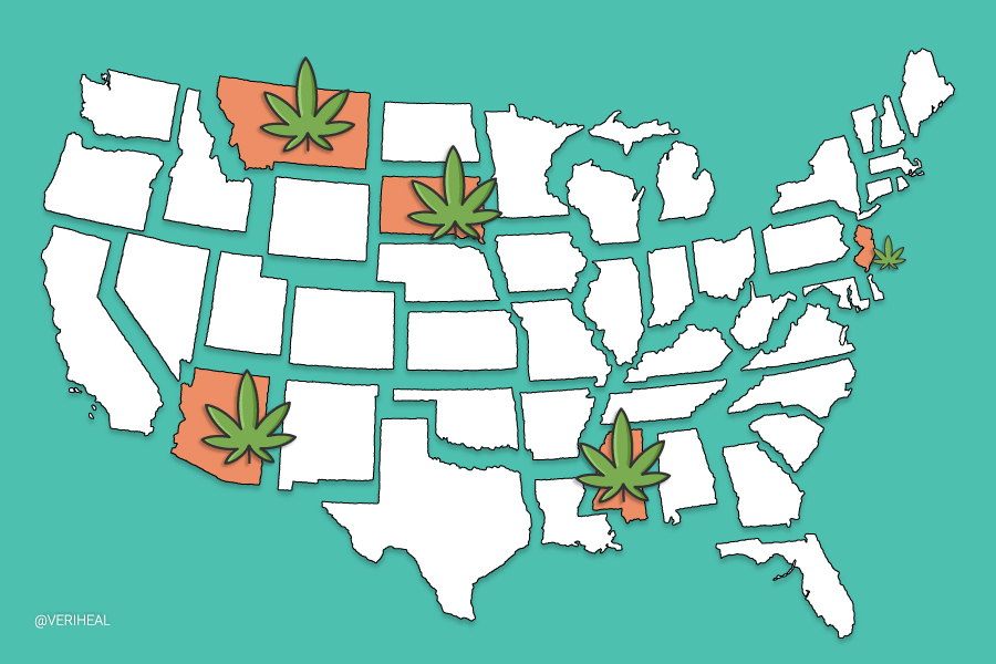 These States Could be the Next to Legalize Cannabis