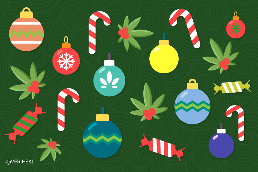 Cannabis Strains That'll Help Take the Strain Out of the Holiday Season
