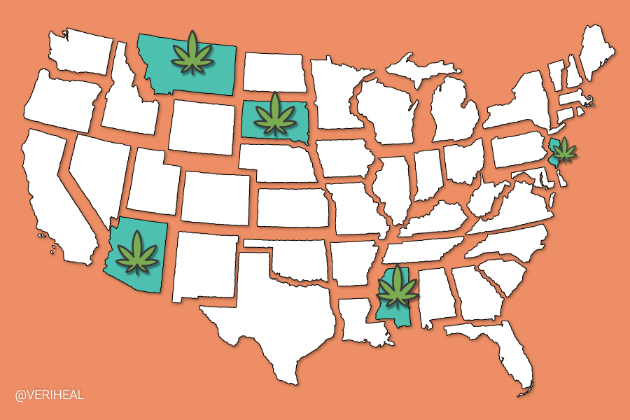 Welcoming 5 Additional States to the Legal Cannabis Arena
