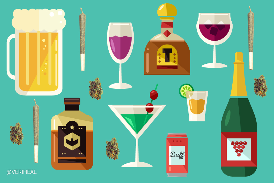 Why Choose Cannabis Instead of Alcohol This Holiday Season
