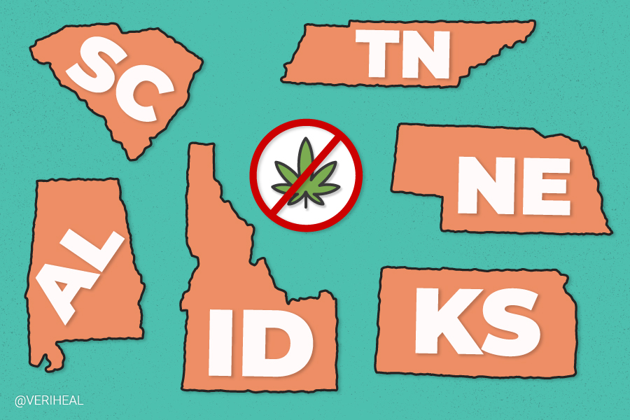 These 6 States Have the Harshest Consequences for Cannabis