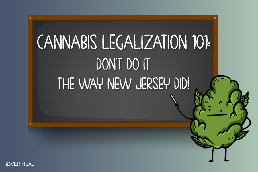 New Jersey is Harshing the Vibe of Cannabis Legalization