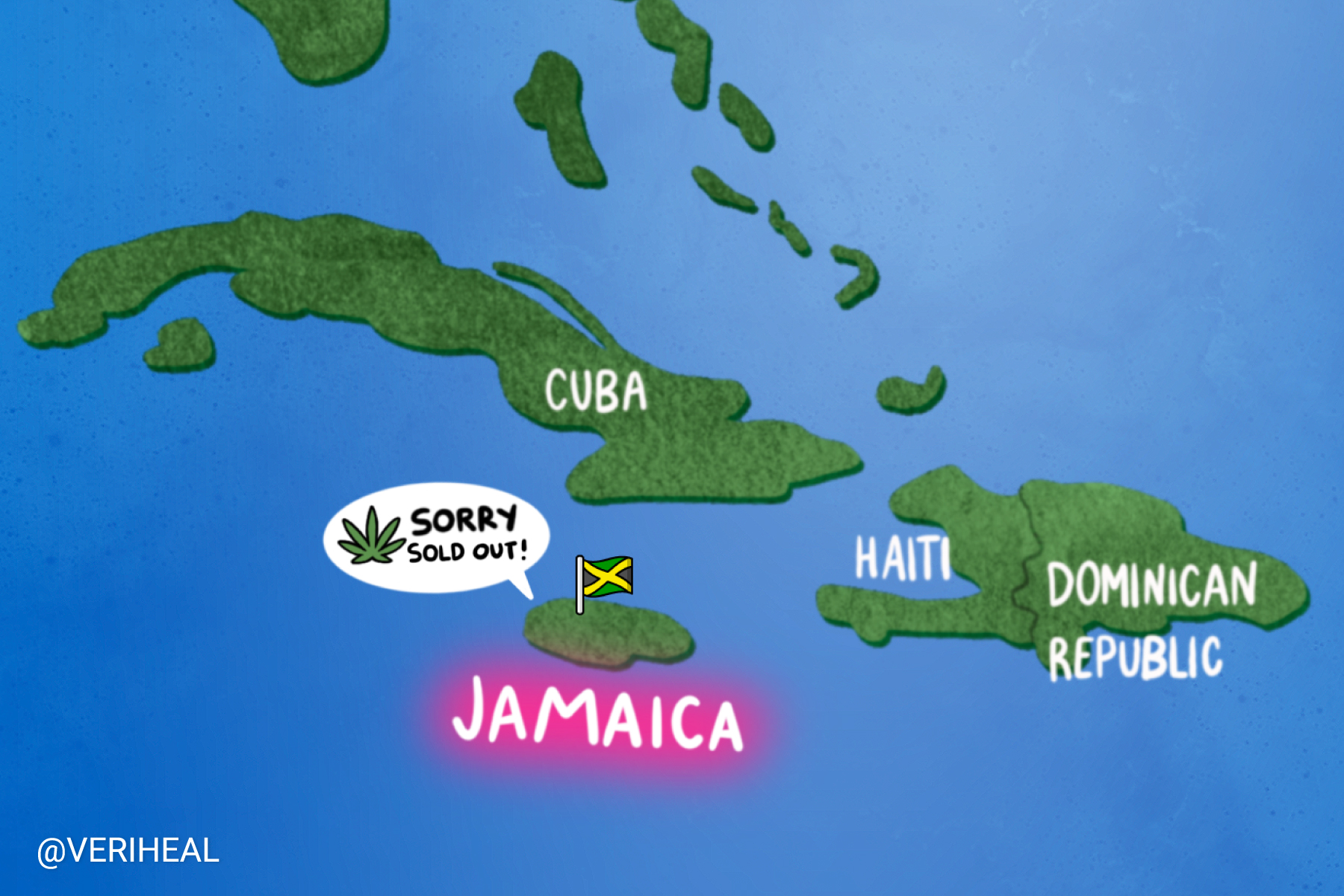A Cannabis Shortage Crisis Ensues in Jamaica