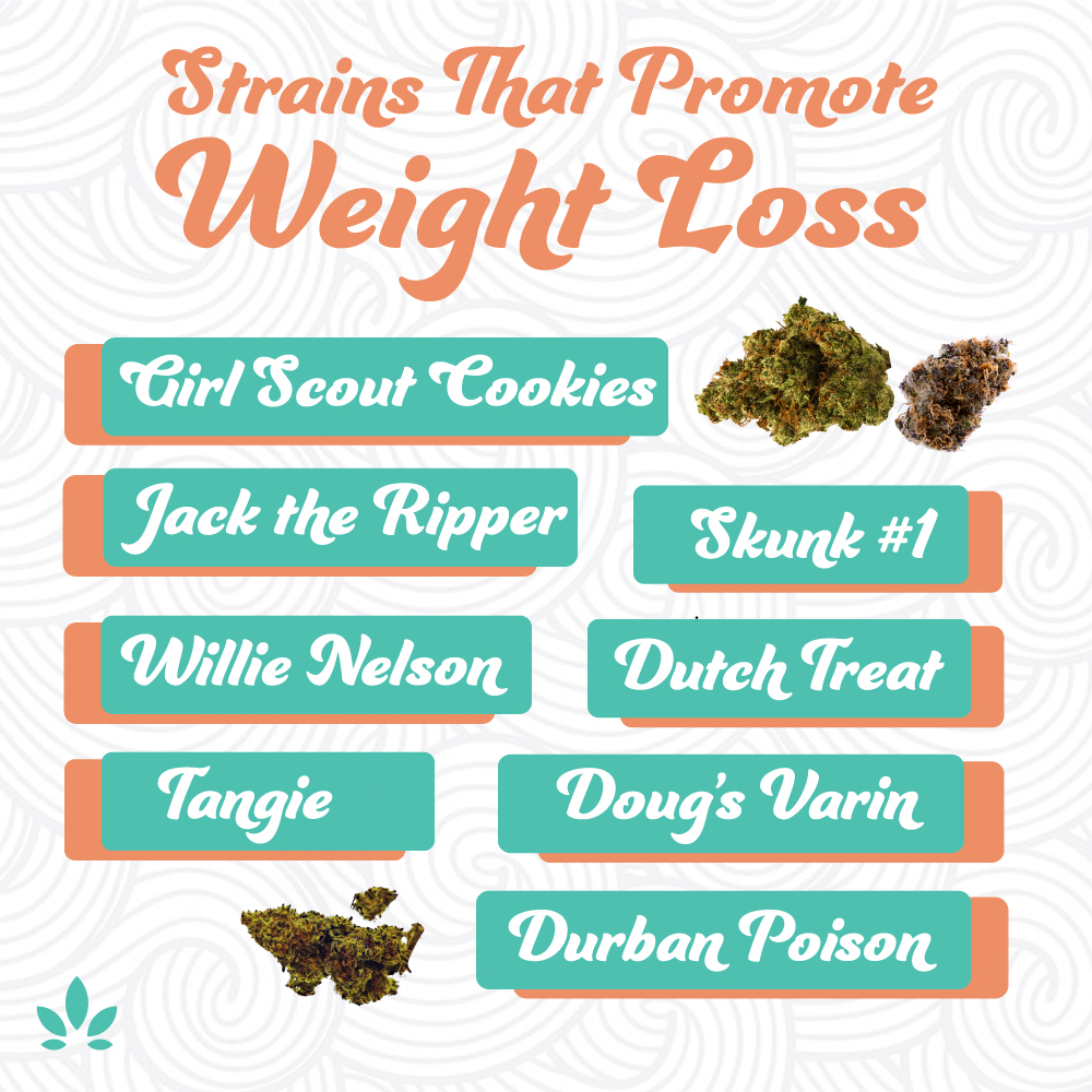 Cannabis strains that promote weight loss
