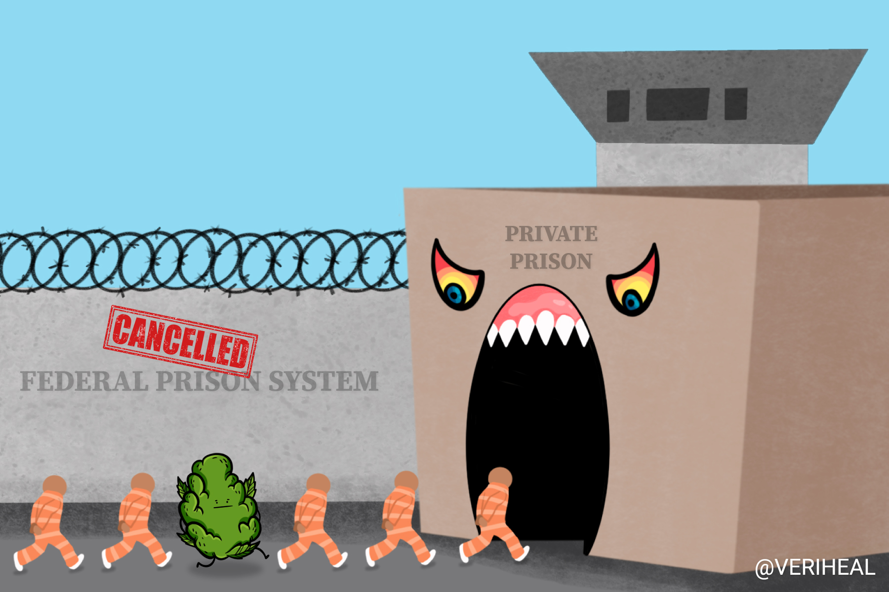 President Biden Severs Contracts With Private Prisons to Combat Systemic Racism