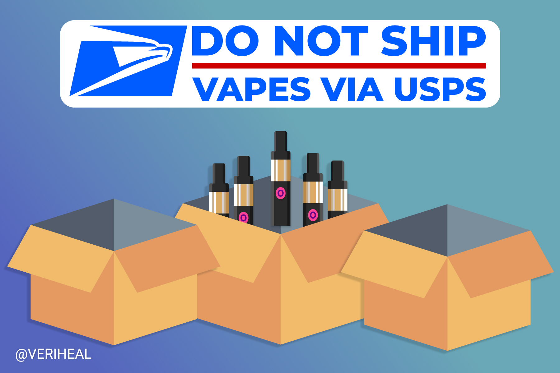 The USPS Bans Shipping Vapes But the Cannabis Industry Isn't Worried