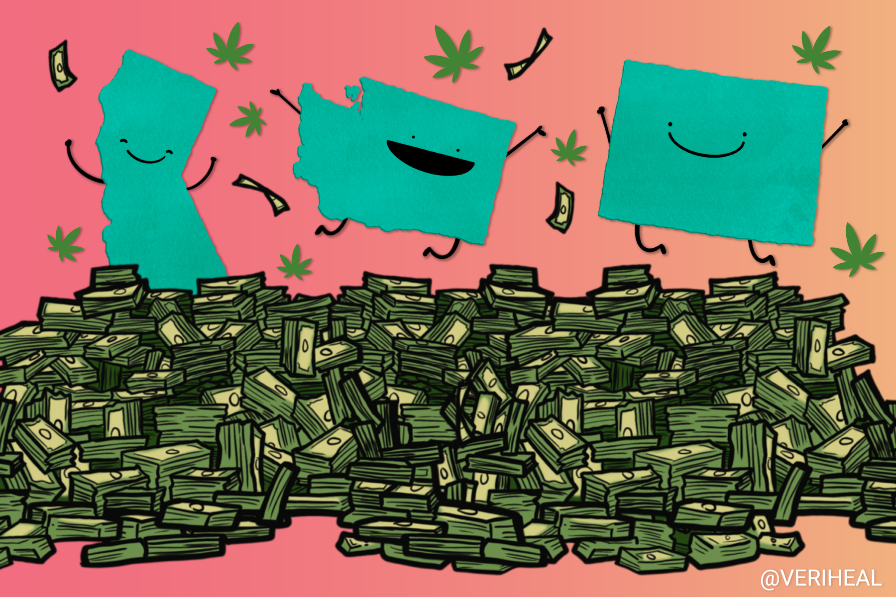 Which States Scored Over a Billion in Cannabis Tax Revenue in 2020?