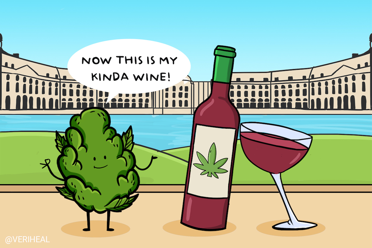 Introducing France's First Cannabis-Infused Wine from The Heart of Bordeaux