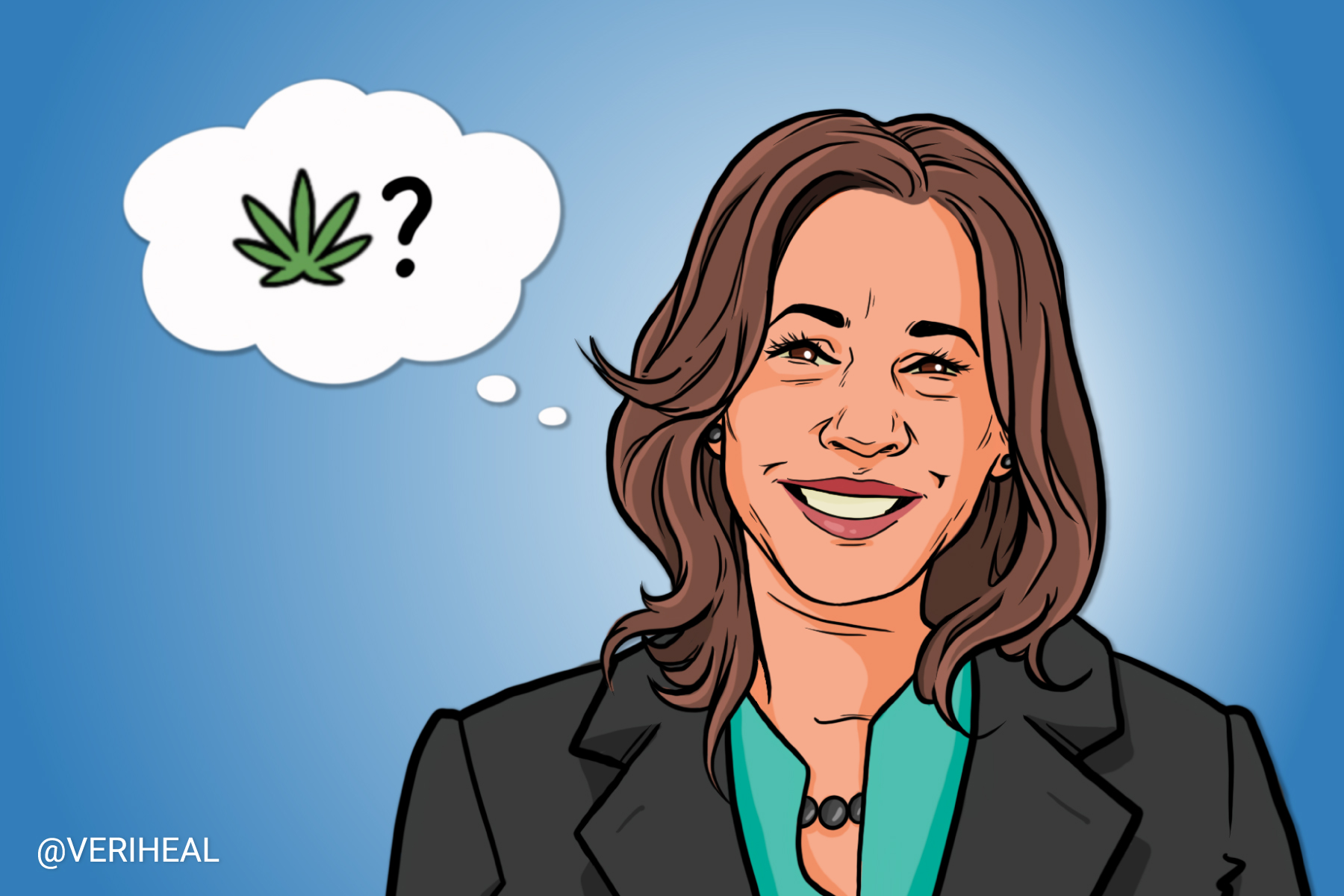 Is Vice President Kamala Harris Shifting Her Views on Cannabis?
