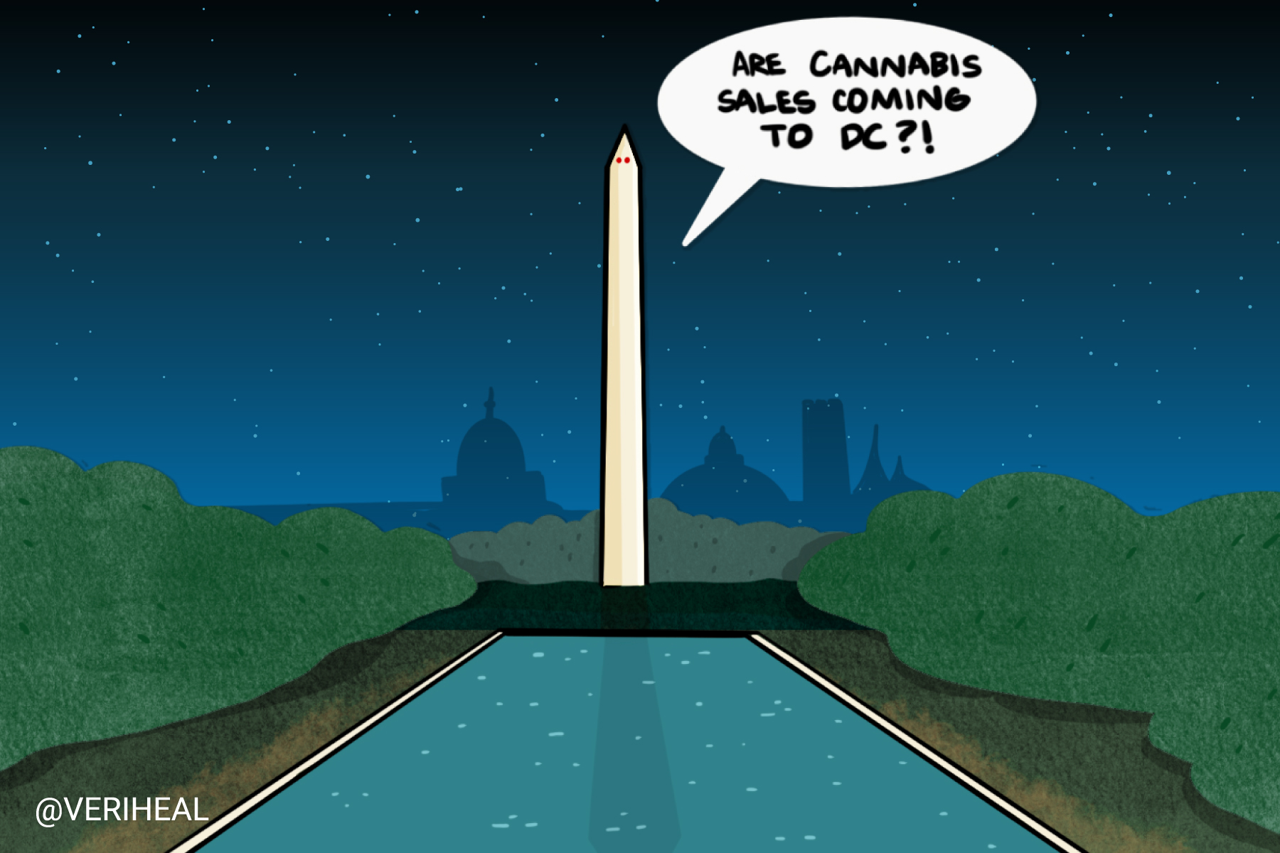 The Safe Cannabis Sales Act of 2021 is Introduced in Washington DC