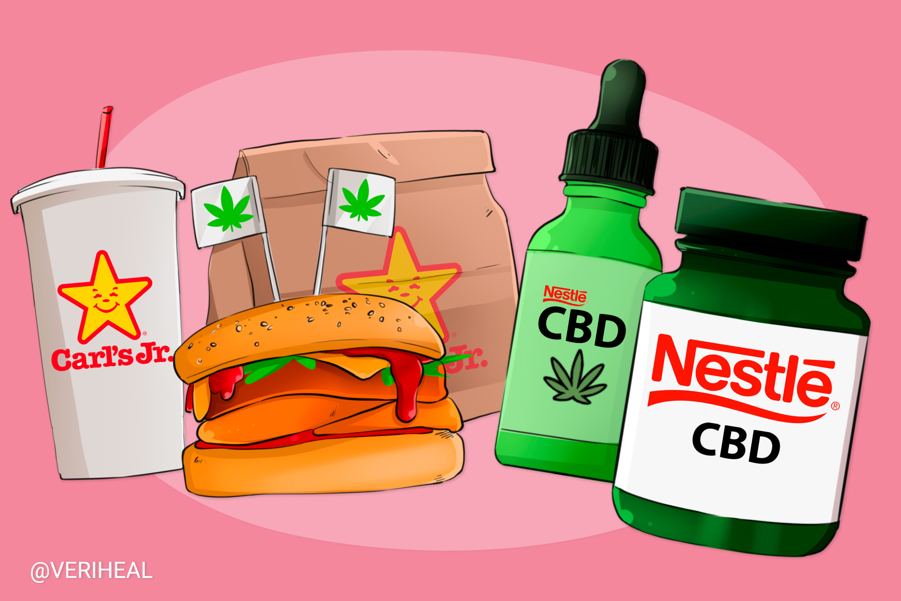 Nestlé and Other Big Food Conglomerates Enter the Cannabis Market