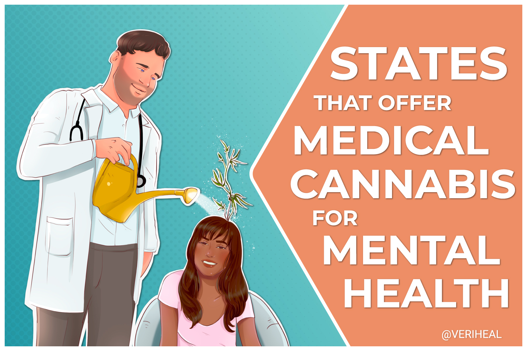 Which States Offer Medical Cannabis For Mental Health Conditions?