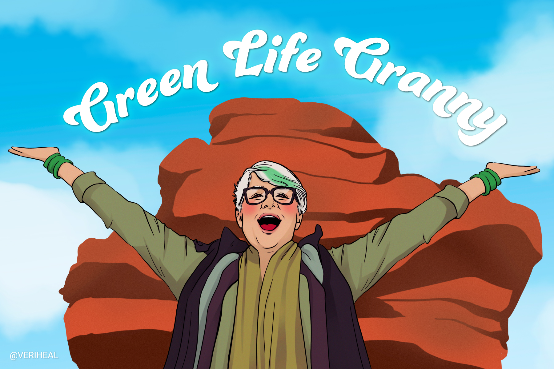 Lisa High the Green Life Granny and a Journey to Green Wellness