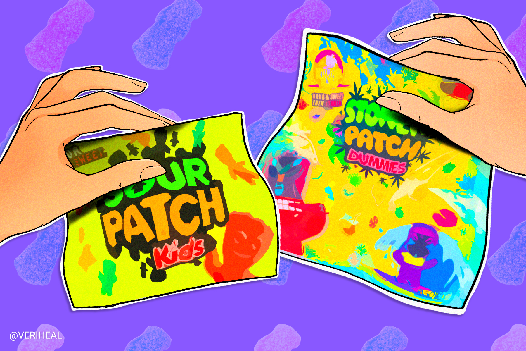 Copycat Cannabis Packaging Has Major Candy Brands Seeing Red