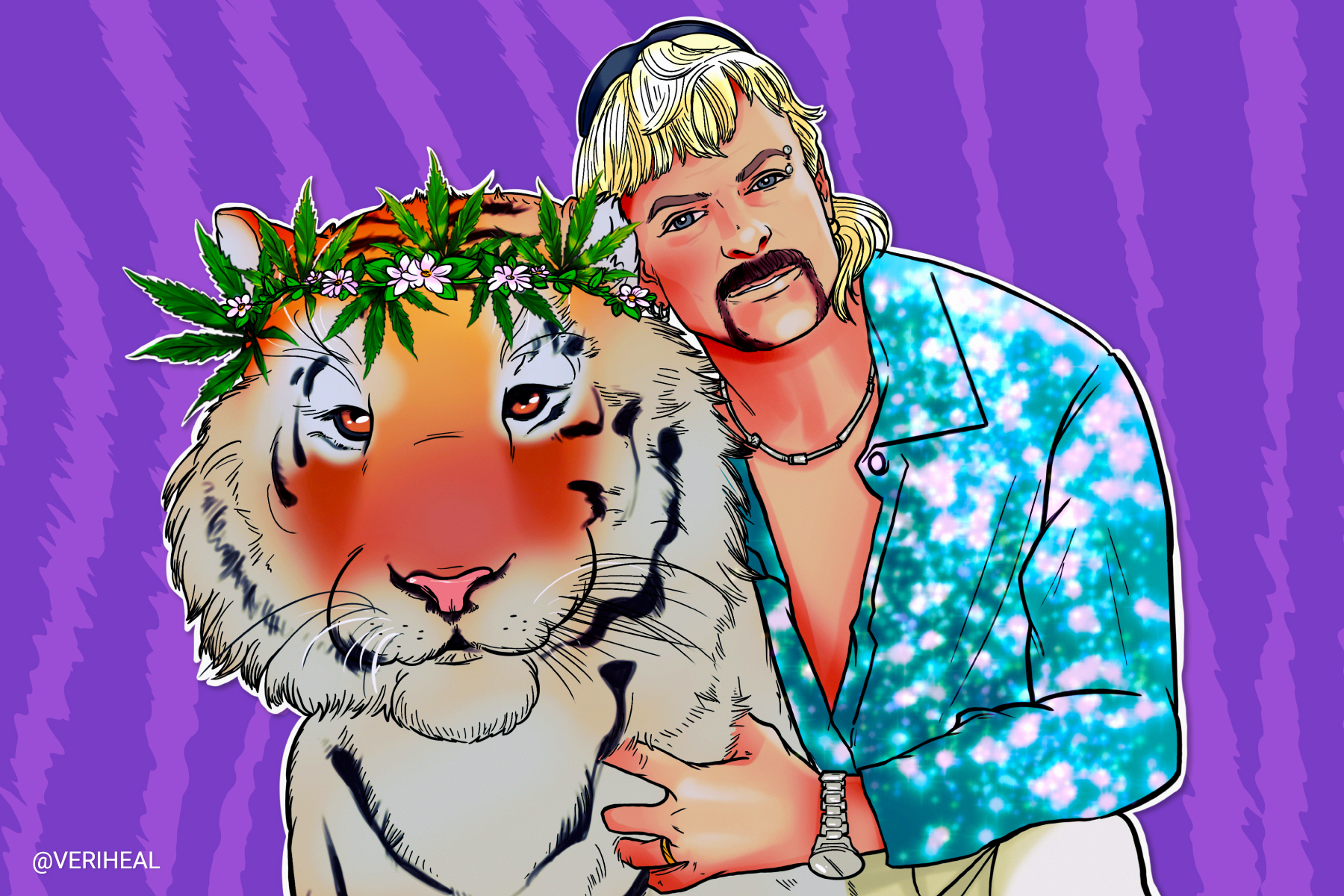 Joe Exotic is Releasing His Own Cannabis Brand Out of Prison