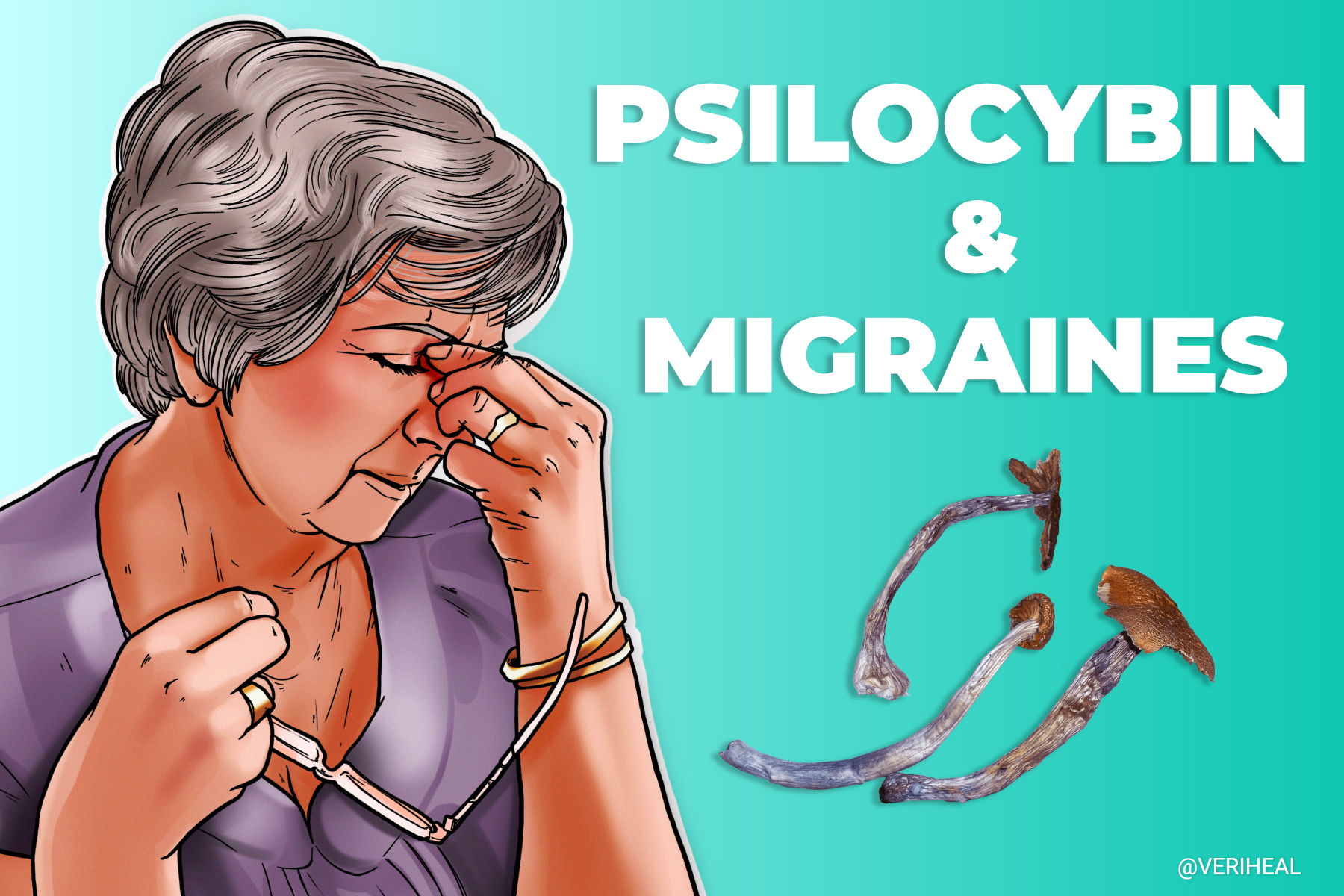 A Single Dose of Psilocybin May Provide Lasting Effects for Migraines