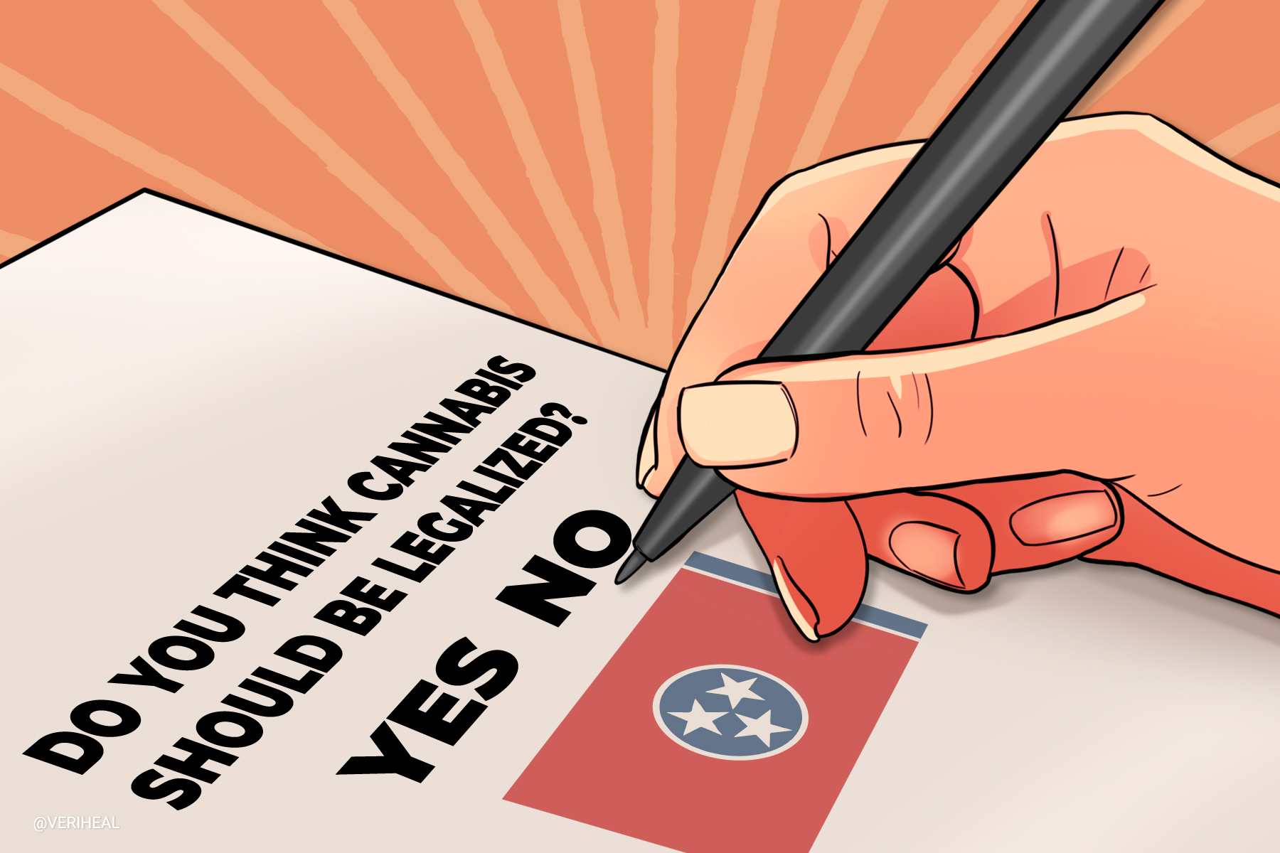 Another Tennessee Poll Asks Resident's Opinion on Cannabis Legalization