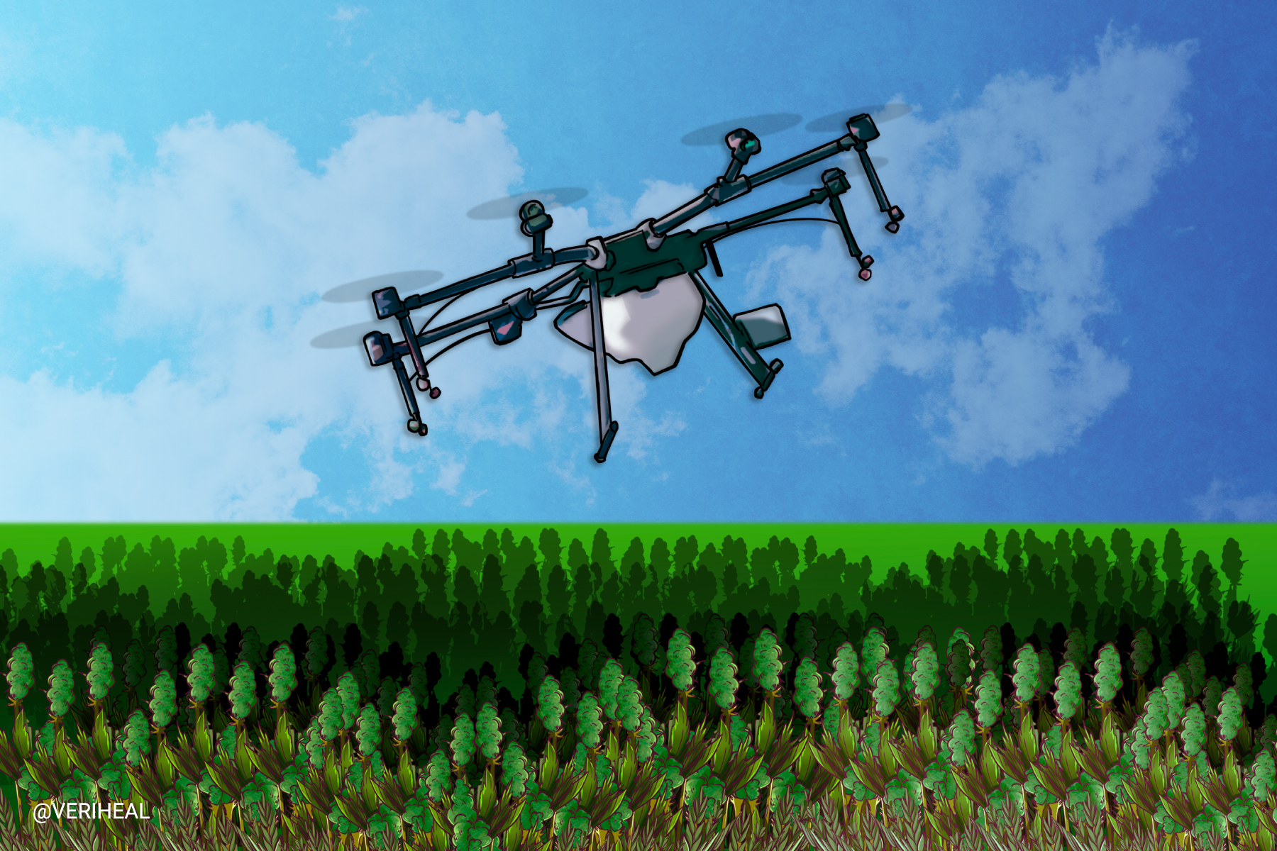 Drones Might Be Able to Help Cannabis Growers Produce Higher Yields