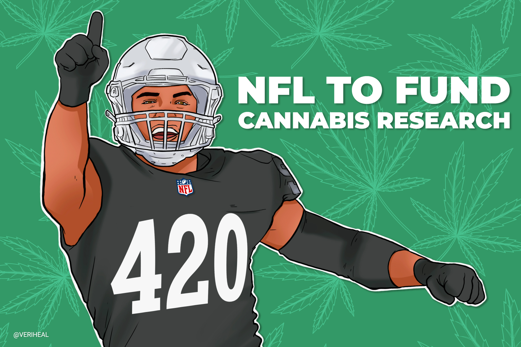 NFL to Award Research Grant to Investigate Cannabis Therapy