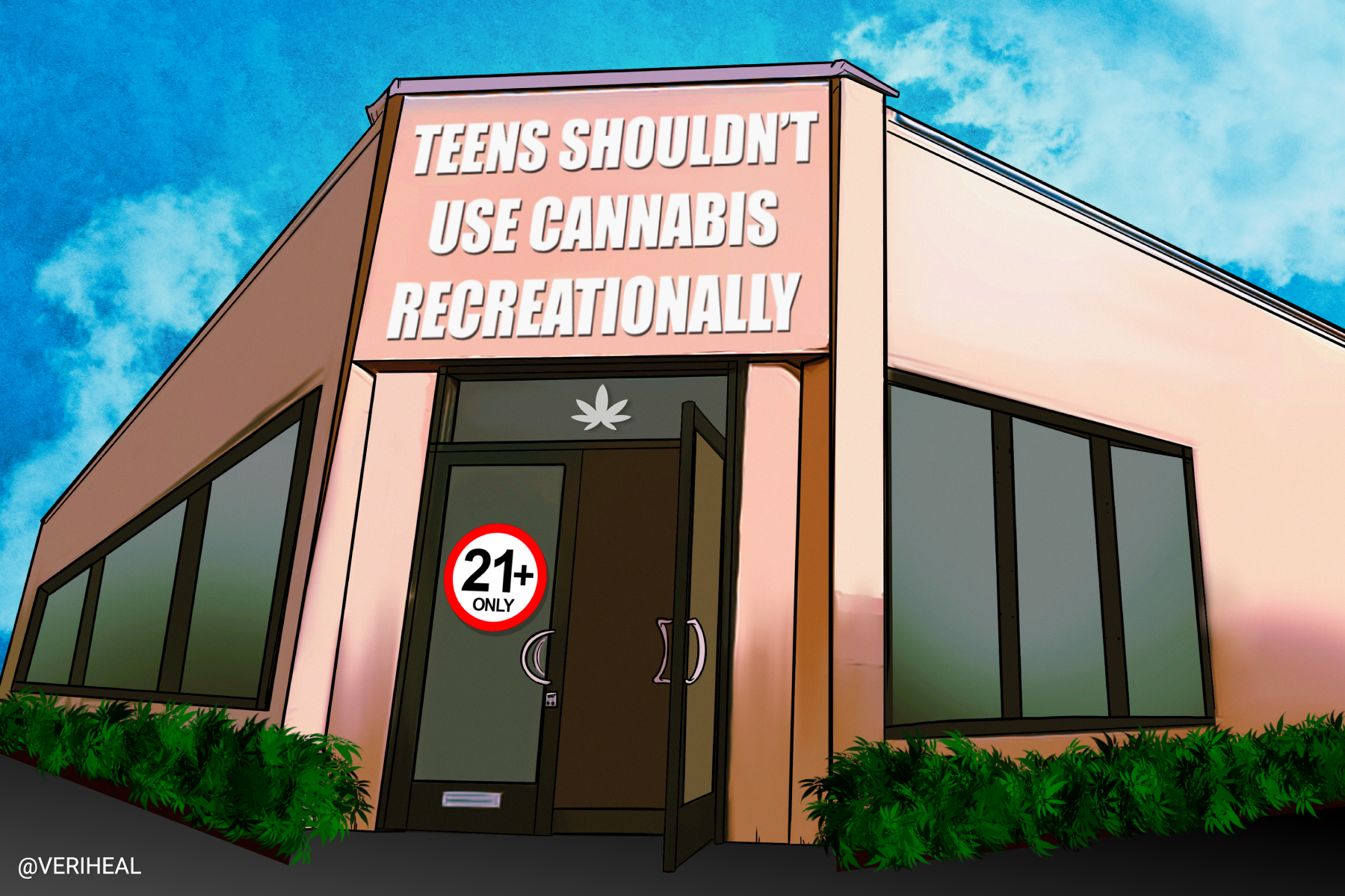 Study Shows Why Teens Shouldn't Use Cannabis Recreationally