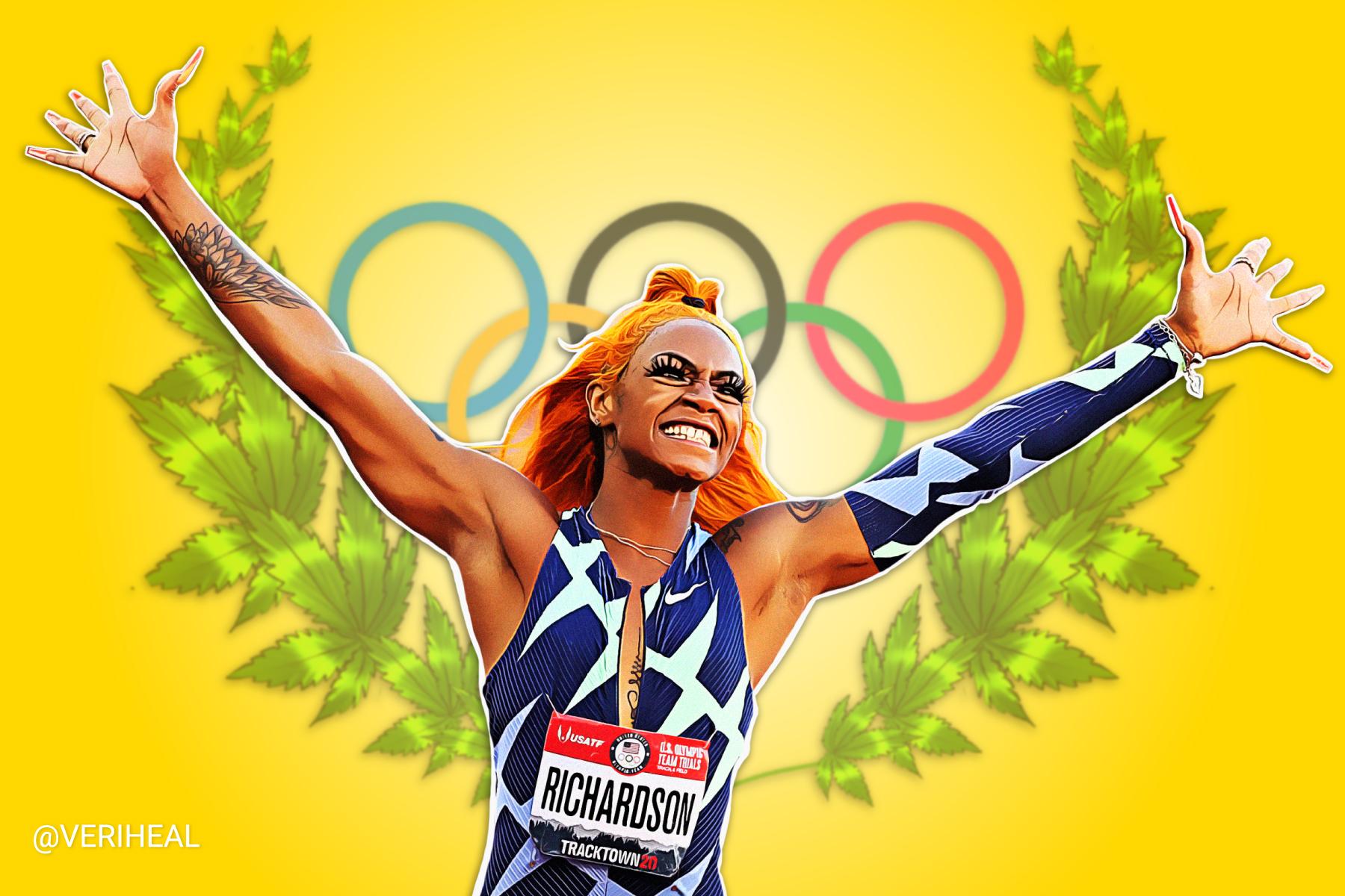 The Case of Sha'Carri Richardson, The Olympics, and Cannabis