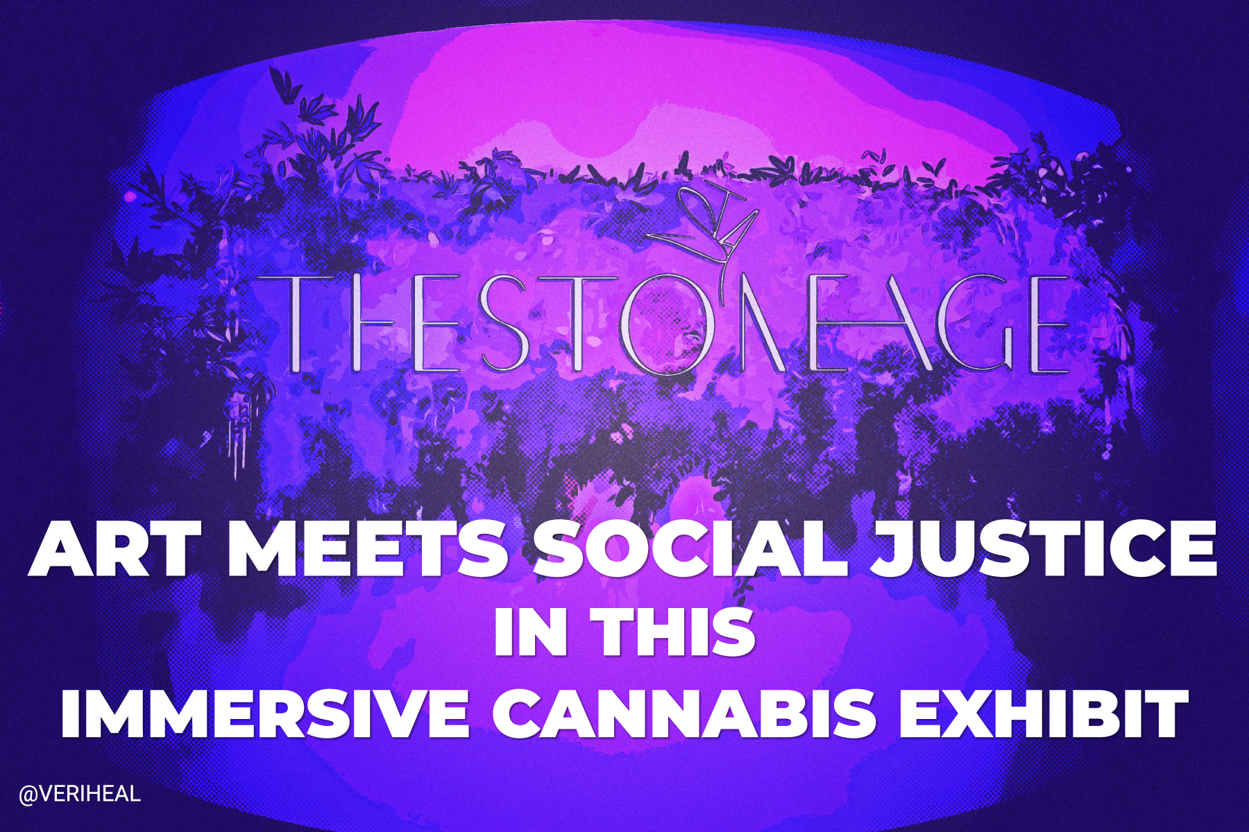 Art Meets Social Justice in 'The Stone Age,' NYC's Immersive Cannabis Exhibit
