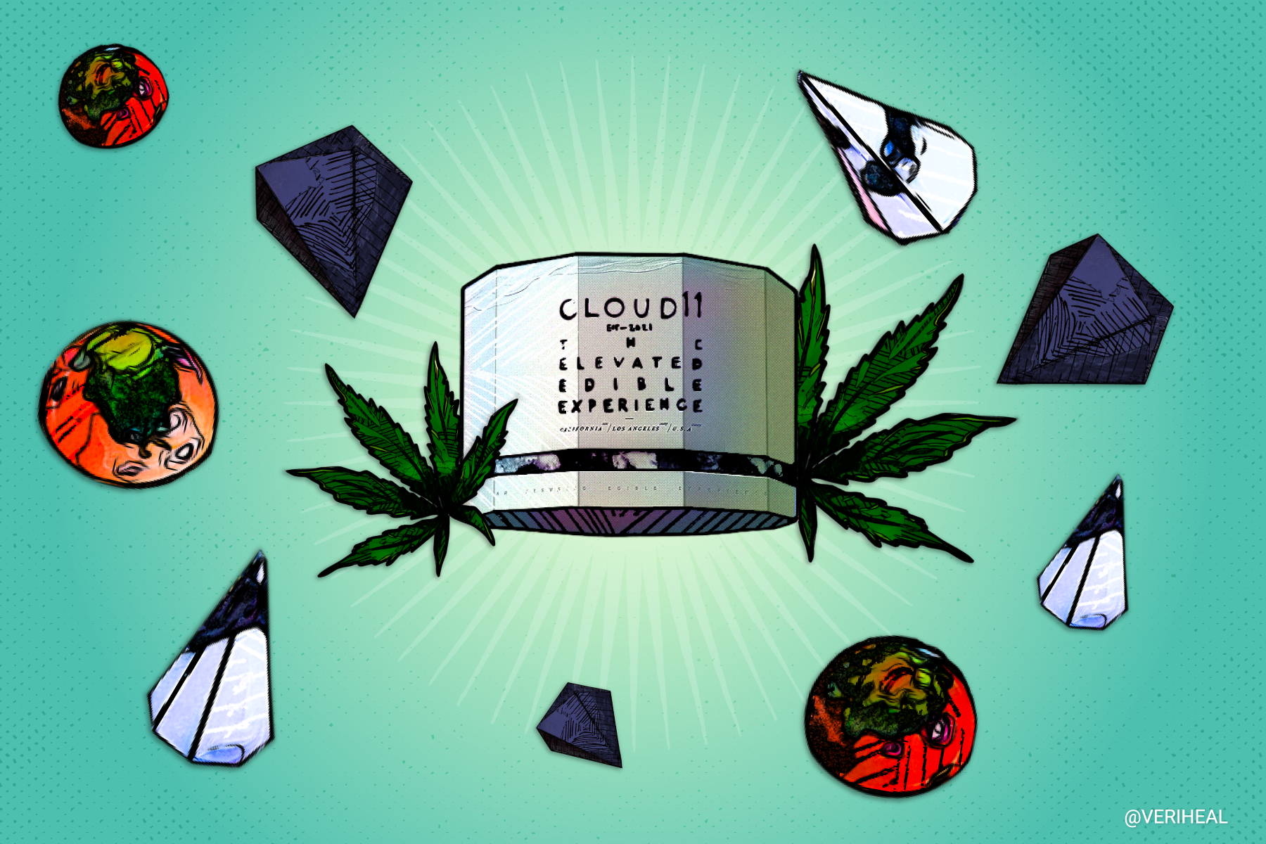Handcrafted Cannabis Confections and White Glove Delivery? Meet LA's Cloud 11
