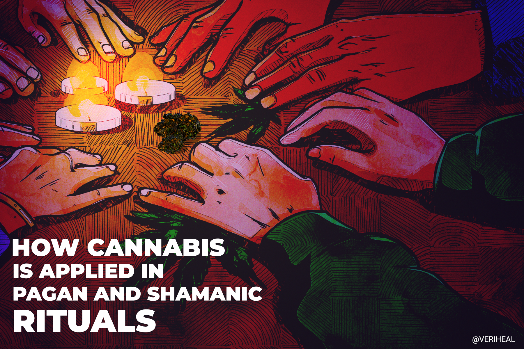 How Cannabis Is Applied in Pagan and Shamanic Rituals