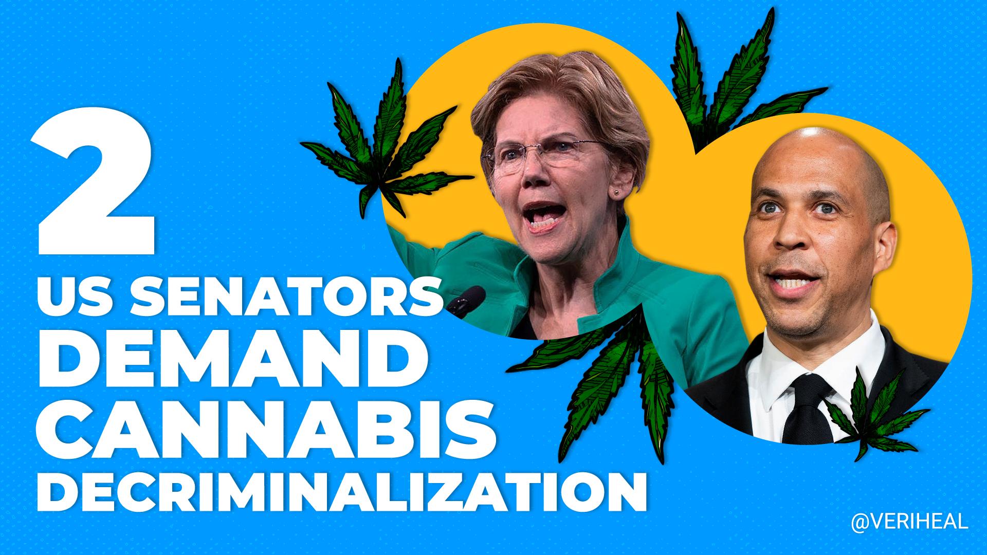 U.S. Senators Urge DOJ To Decriminalize Cannabis
