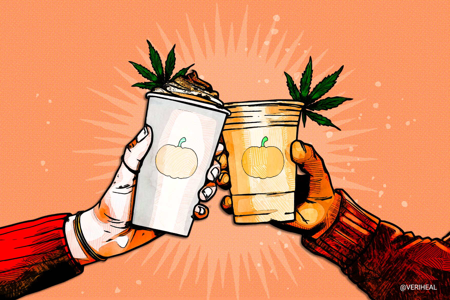 This Cannabis-Infused Iced Pumpkin Spice Latte Recipe is a MUST for Fall