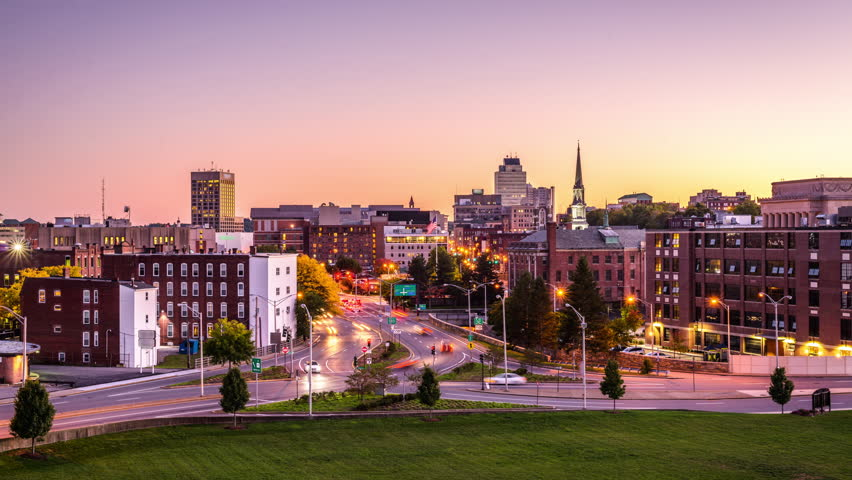 Worcester MA Downtown