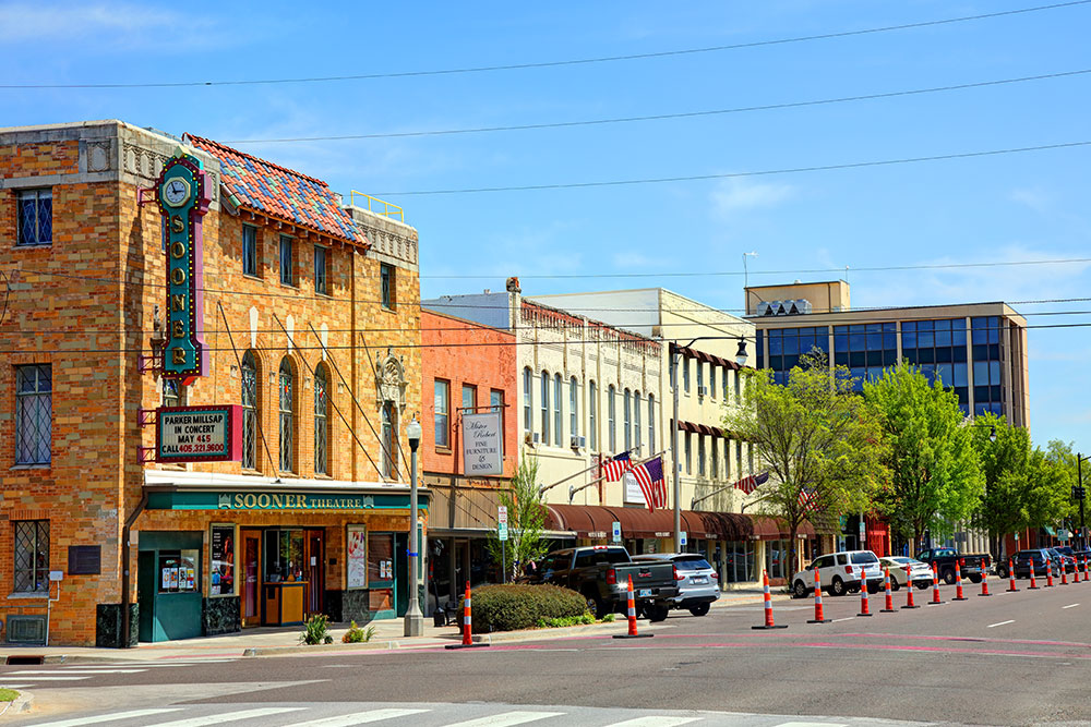 Norman-OK-downtown